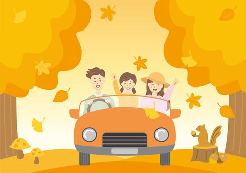 秋葉家庭旅行汽車驅動