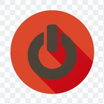 Flat icon - Power button