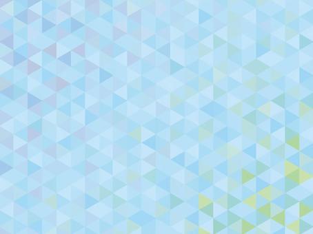 淡藍色三角形馬賽克