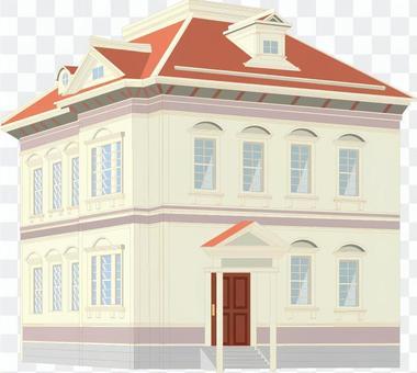 家 建物 洋館 屋敷 レトロ 外国 洋風