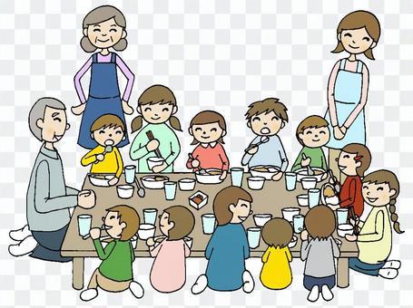 宴會派對11(小孩)線黑色