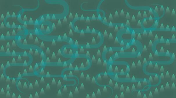 綠山背景圖