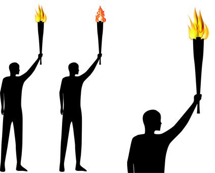 火炬運動比賽火