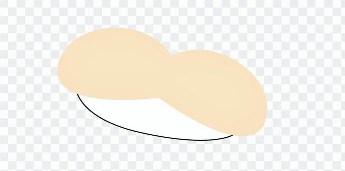 壽司簡單扇貝