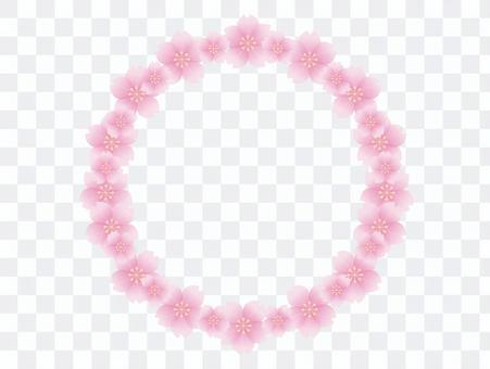 桜の花びら アーチ