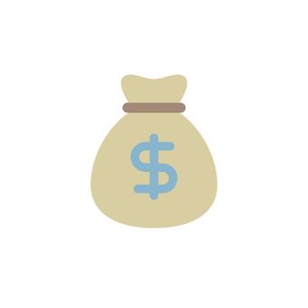 美元袋圖標$