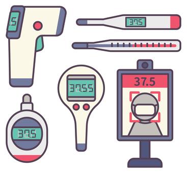 各種溫度計