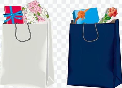 紙袋行李禮物