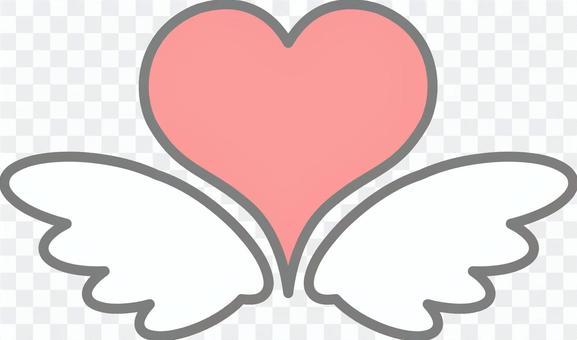 心臟和羽毛