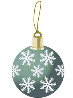 聖誕飾品(球體/綠色)