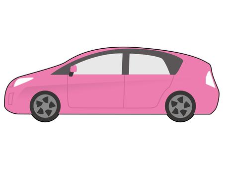 汽車插圖 D