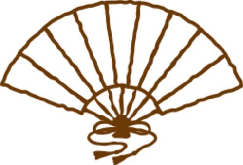 Hand-drawn fan