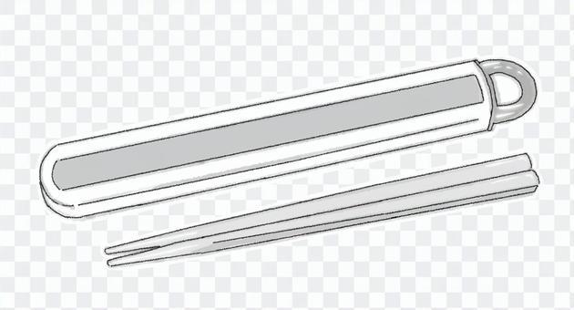 筷子套(黑白)