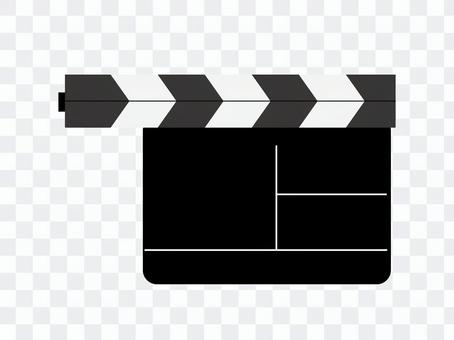 Clapperboard電影視頻插圖免費