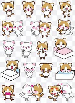 貓情侶剪集合1