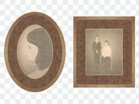 舊棕褐色照片圖像