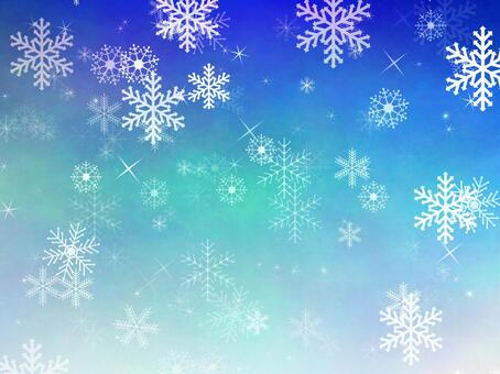 Snow crystal background 1
