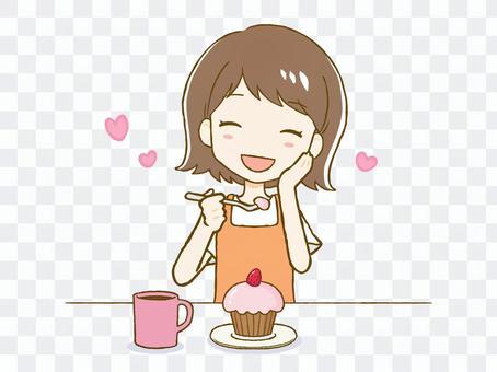 女人吃糖果①