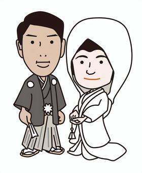 結婚式/白無垢