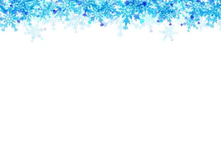雪框裝飾(上)
