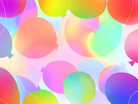 Background wallpaper frame decorative frame balloon balloon fun
