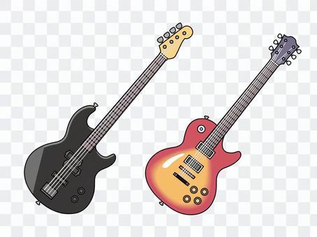 電吉他和低音吉他