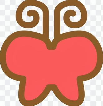 蝴蝶(紅02)
