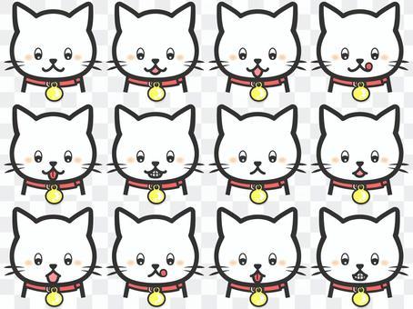 純白貓套裝88下裝