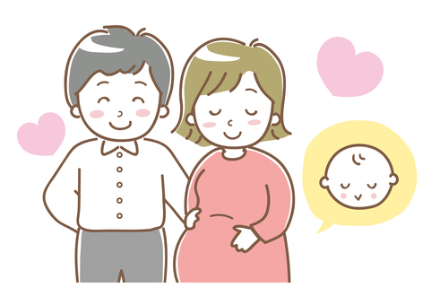 Happy couple who are pregnant and want to see their baby 01