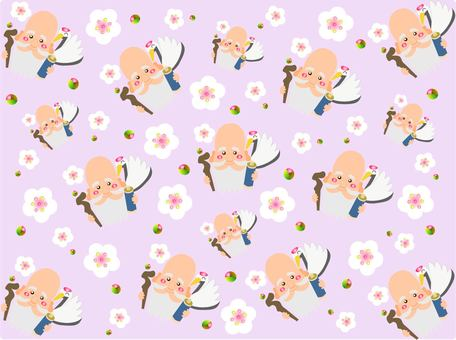 Fu Lu Shou background wallpaper