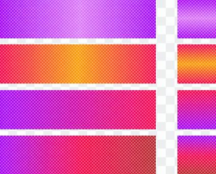 Gradation banner · Width 1000 width 250