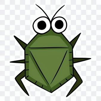 Cute stink bug