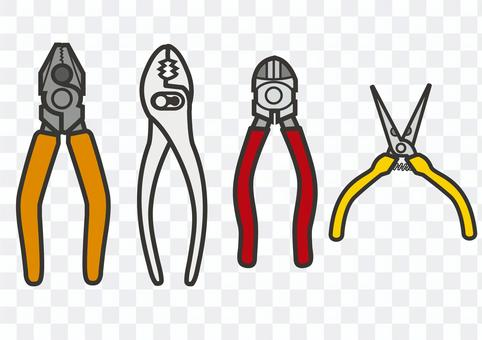 鉗子,鉗子和鉗子