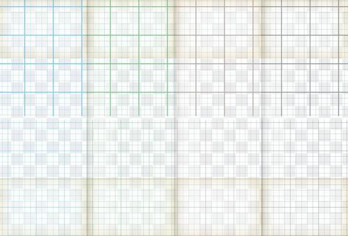 多彩的方格的紙紋理集