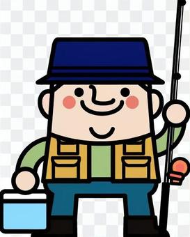 Uncle fairy fisherman