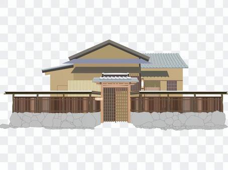 Cut japanese house