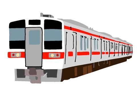 火車(通勤/郊區型紅帶)