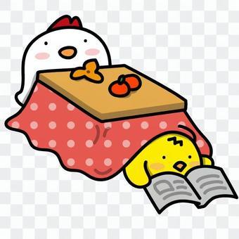 雞的親子:溫暖和哭泣