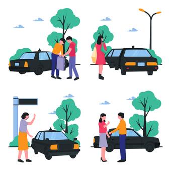 Catch a taxi