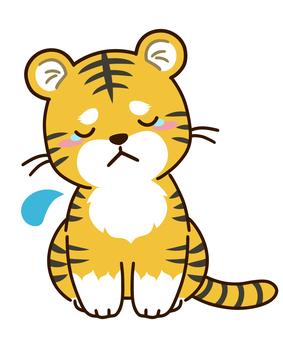 A tiger character