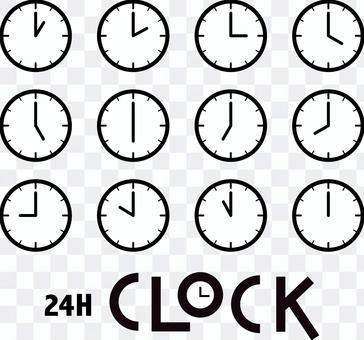 24H CLOCK simple