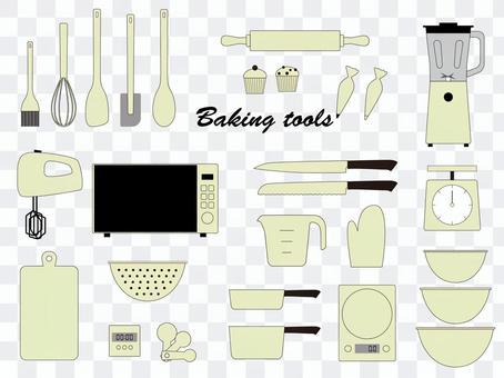 烘焙工具搞笑製作工具集