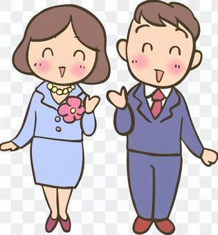 正式的女孩和男孩-1