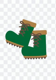 Outdoor shoes (green)