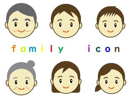 家庭偶像爸爸媽媽孩子