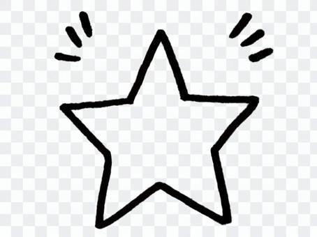 星形/線條圖