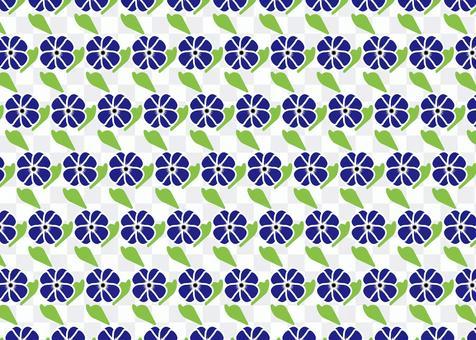 Blue flower tile image wallpaper desktop