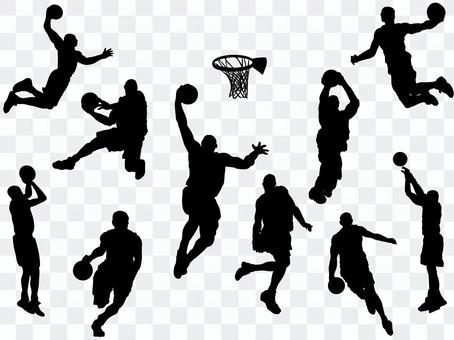 籃球_剪影