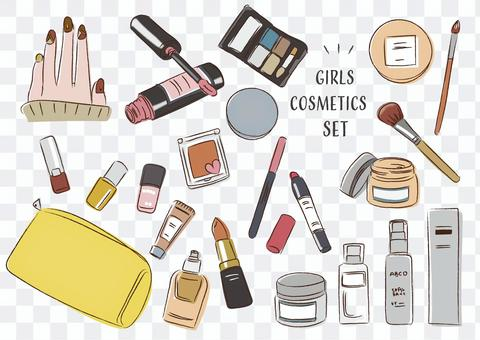 Cosmetics cosmetics girl makeup cute
