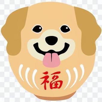 Dog Daruma 13